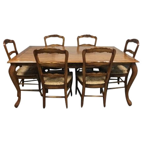 Fremarc Designs Chateau Draw Top Dining Set - Image 1 of 11