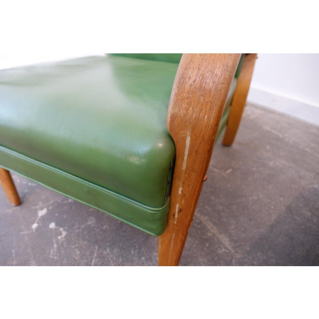 Art Deco Mid-Century Modern Bentwood Club Chairs - a Pair For Sale - Image 3 of 9