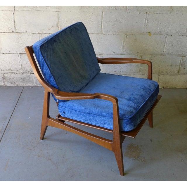 Norwegian Mid Century Modern Lounge Chair - Image 4 of 6