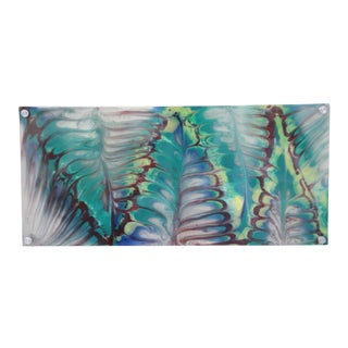 Peacock Resin Art Wall Hanging For Sale