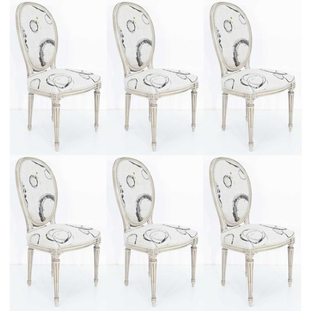 Louis XVI Dining Chairs by Widdicomb - Set of 6 For Sale - Image 10 of 10