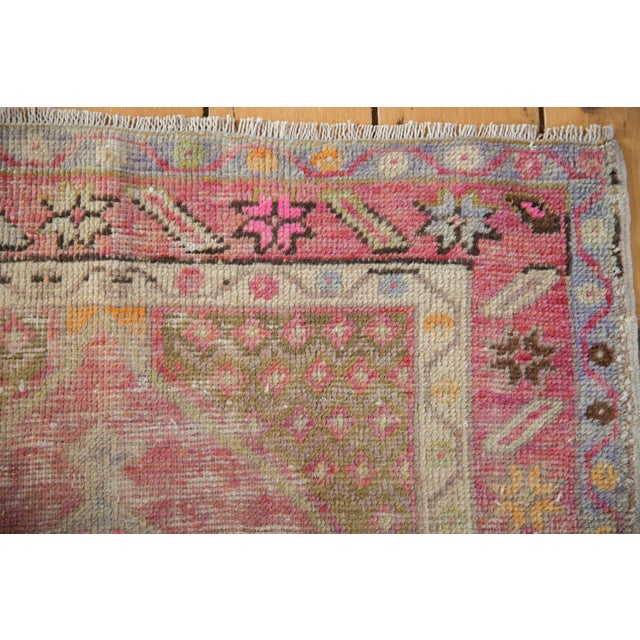 "Vintage Distressed Oushak Rug - 2'9"" X 3'11"" For Sale In New York - Image 6 of 9"