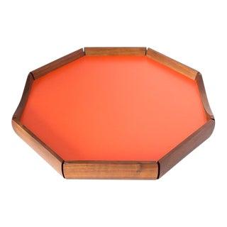 Richards Morgenthau Co. Hexagon Teak Drinks Tray