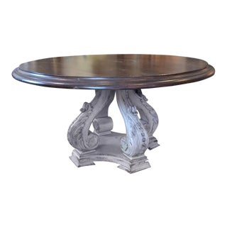 "Habersham Attributed 60"" Round Dining Table"