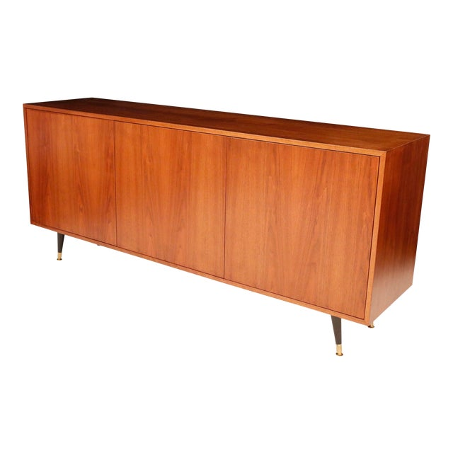 1970s Mid-Century Curated Danish Teak Credenza For Sale