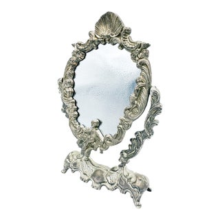 Art Nouveau Dressing Table Mirror For Sale