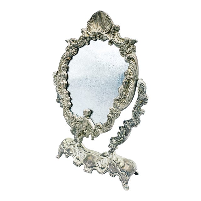 Art Nouveau Dressing Table Mirror For Sale