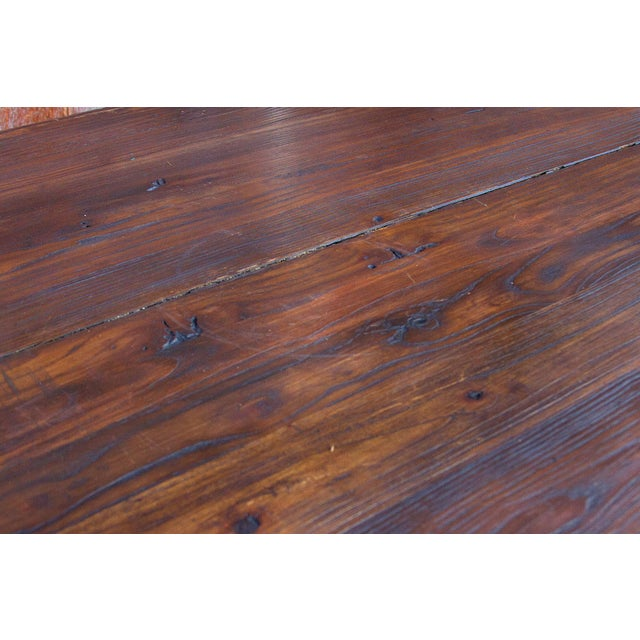 Vibrant Spanish Colonial Dining Table For Sale - Image 4 of 8