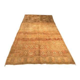 "Bellwether Rugs ""Harvest"" Vintage Moroccan Area Rug - 5'6""x10'7"" For Sale"