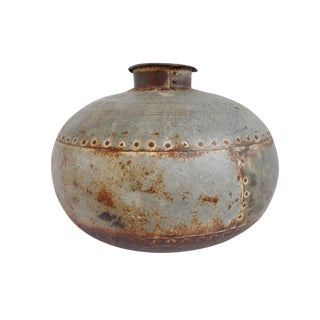 Vintage Iron Water Pot For Sale