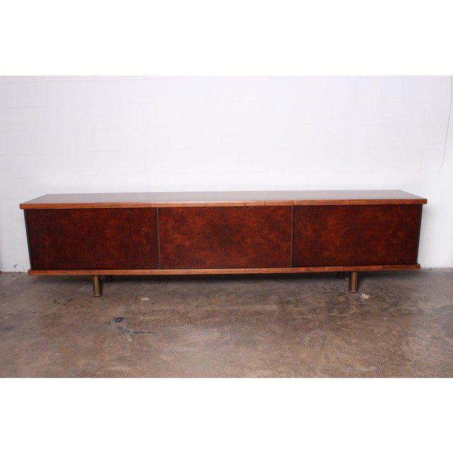 Mid-Century Modern Large Cabinet by Osvaldo Borsani for Tecno For Sale - Image 3 of 13