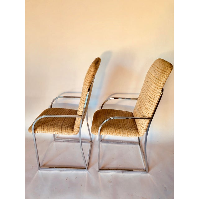 1970s Design Institute of America Mid-Century High Back Dining Chairs - A Pair For Sale - Image 5 of 12