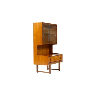 Mid Century Danish Teak Cocktail Cabinet For Sale