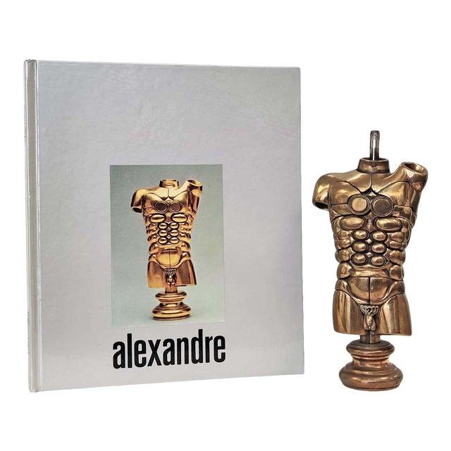"Miguel Berrocal ""Alexandre"" Three-Dimensional Bronze Mechanical Puzzle Sculpture For Sale"
