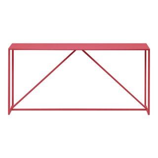 Modern Blu Dot Hot Pink Strut Console Table For Sale