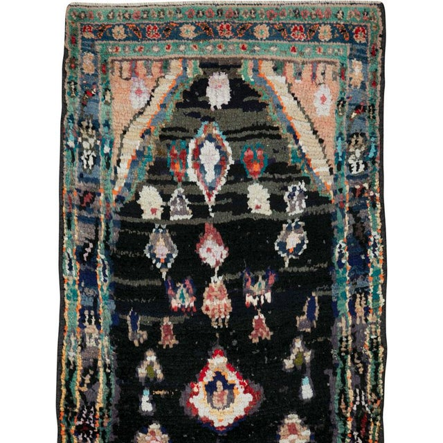 "Islamic Vintage Persian Gabbeh Rug – Size: 1' 11"" X 4' 2"" For Sale - Image 3 of 9"