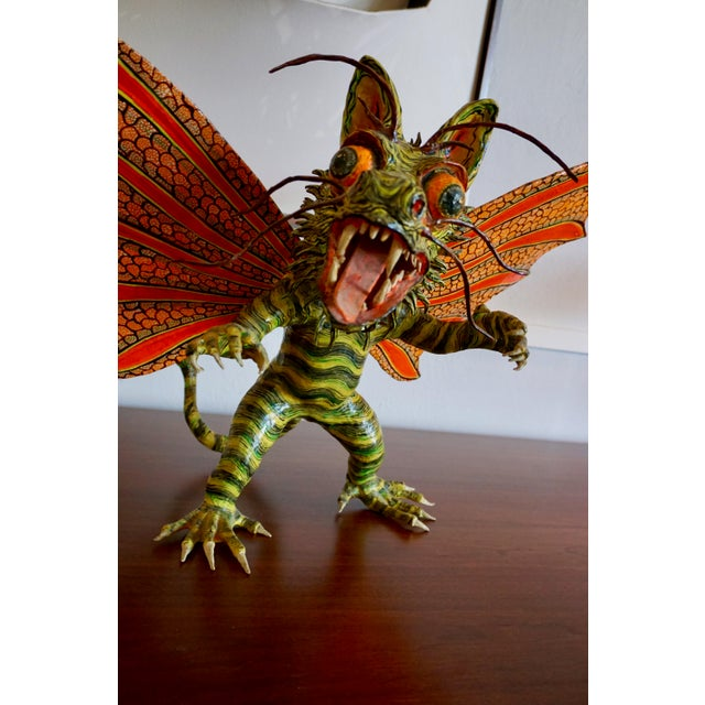 "Paint Fantastical Creature ""Alebrijes"" by Felipe Linares For Sale - Image 7 of 9"