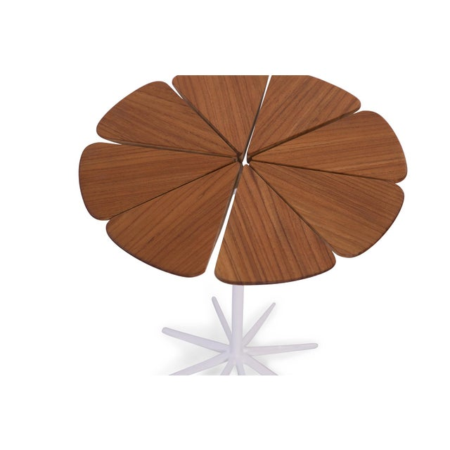 Knoll 1970s Richard Schultz for Knoll Petal Side Table For Sale - Image 4 of 6