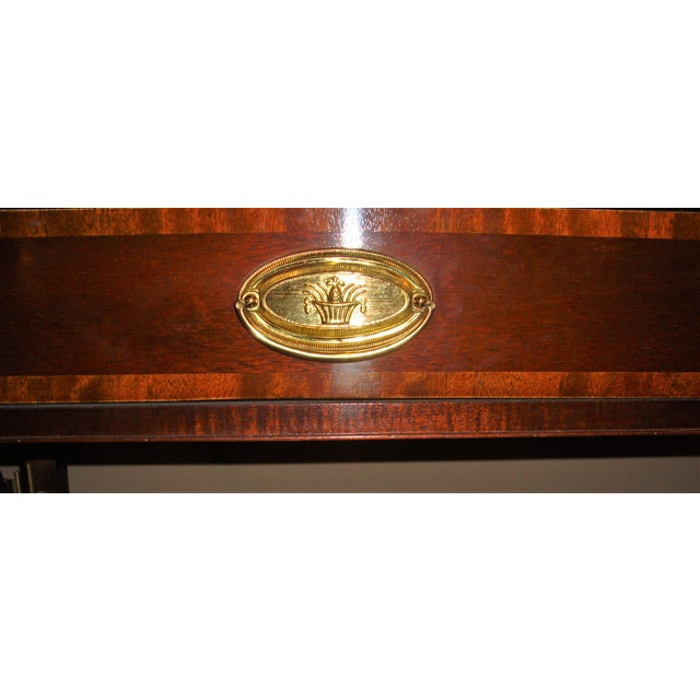 Baker Furniture Company Mahogany Sofa Table - Image 7 of 10