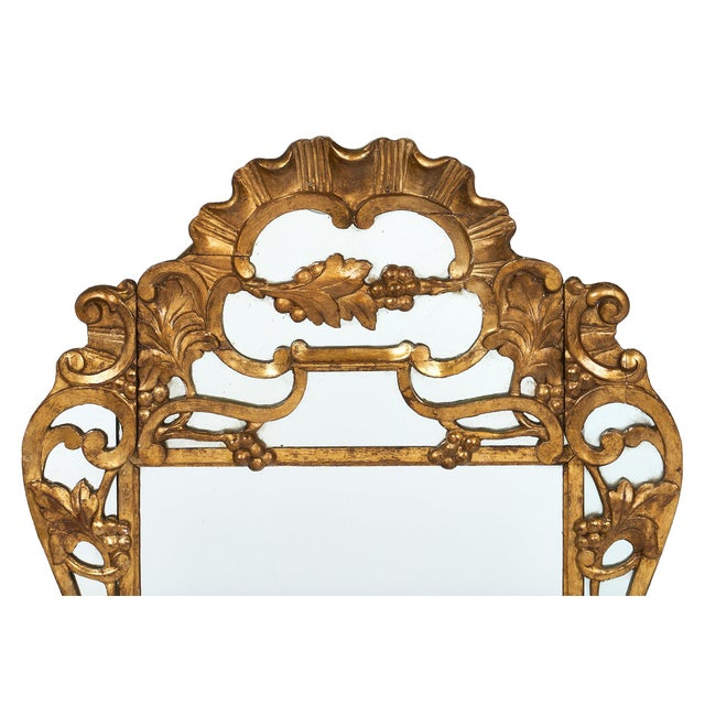 "French Antique Louis XIV Style ""Pareclose"" Mirror For Sale - Image 4 of 11"