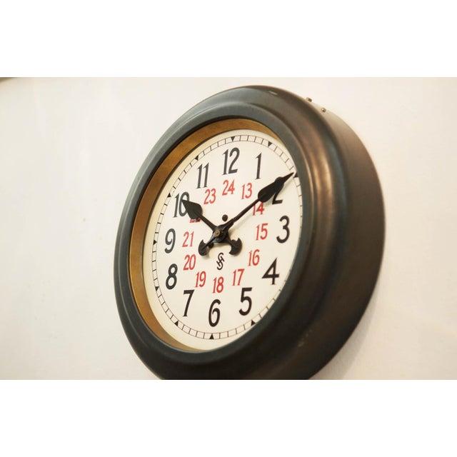 Bauhaus Workshop Wall Clock by Siemens Halske, 1930s For Sale - Image 6 of 7