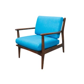 Mid-Century Curated Danish Chair For Sale