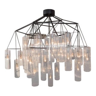 Huge Custom Acrylic Pendant Chandelier in the Manner of Aartreme For Sale