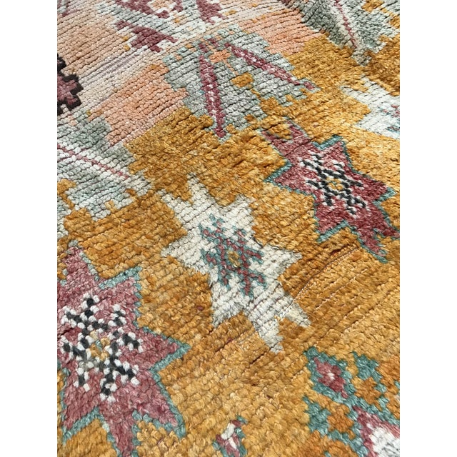 Vintage Turkish Over Dyed Rug Tribal Ottoman For Sale In Los Angeles - Image 6 of 8