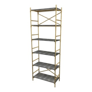 Made Goods Kenneth 6-Shelf Bookcase For Sale