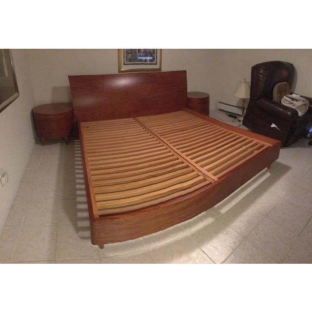 Maurice Valency King Size Bed & Two Night Stands - Image 4 of 11