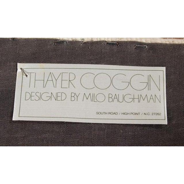 Signed Milo Baughman Thayer Coggin Ottomans - Pair - Image 4 of 7