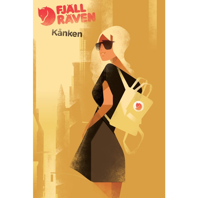 Contemporary Mads Berg 'FjallRaven' Danish Poster - Image 2 of 2