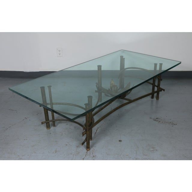Brutalist Lotus Coffee Table For Sale - Image 9 of 10