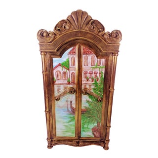 "Vintage ""Dreams of Venice"" Closet For Sale"