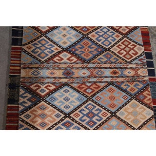 Hand Knotted Geometric Runner Rug - 2' X 8' Preview