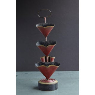 19th Century French Painted Three-Tier Tole Candy Display Stand Preview