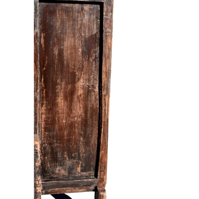 19th Century Antique Rustic Northern Chinese Cabinet For Sale - Image 11 of 13