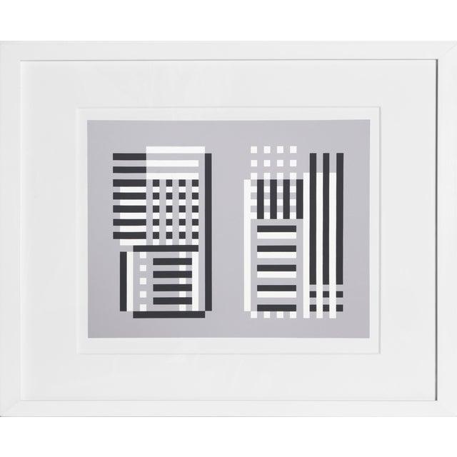 Josef Albers - Portfolio 2, Folder 11, Image 1 Framed Silkscreen For Sale