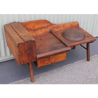 Early 19th Century Folky Cobblers Bench From Pennsylvania Preview