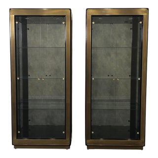 20th Century MasterCraft Cabinets - a Pair For Sale