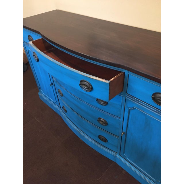 1940s Corinth Blue Credenza - Image 6 of 10