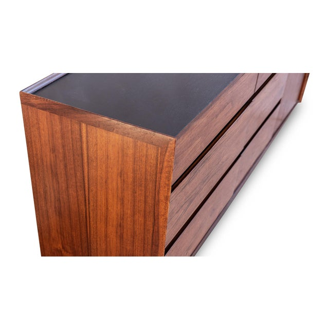 Dillingham Esprit Walnut Dresser For Sale In Las Vegas - Image 6 of 9