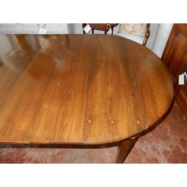 Louis XVI Directoire' Extension Dining Table For Sale - Image 4 of 9