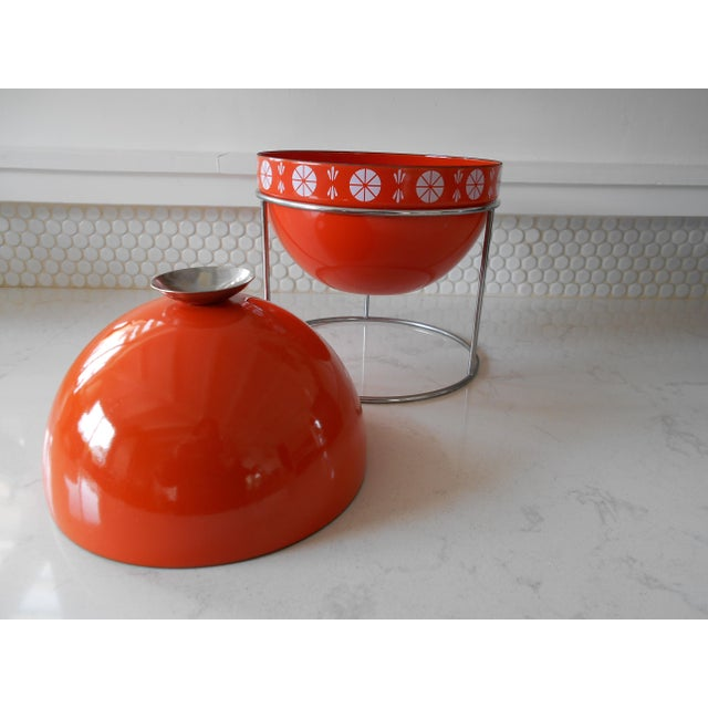 Orange Cathrineholm Soup Tureen - Image 7 of 9