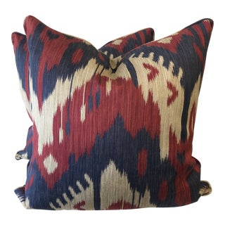 "Kravet ""Armando Durango"" 22"" Pillows-A Pair For Sale"