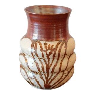 Organic Pattern Studio Pottery Ceramic Vessel