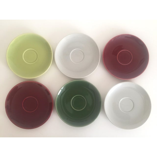 Ceramic Mid Century Modern Universal Ballerina Multicolor Dinnerware - Set of 32 For Sale - Image 7 of 11