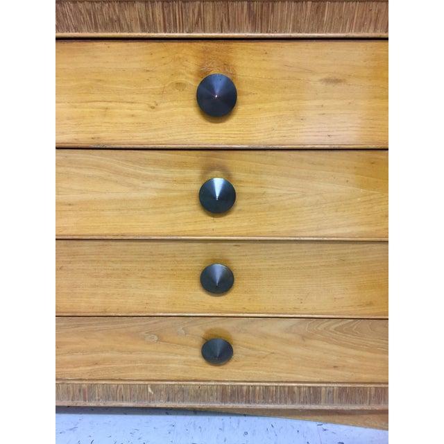 Paul Frankl for Brown Saltman Dresser & Mirror For Sale - Image 12 of 13