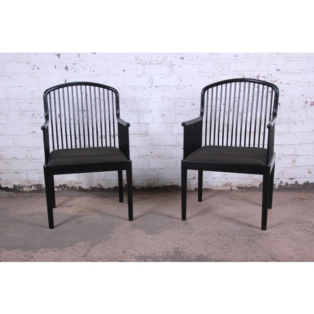 Stendig Stendig Andover Black Spindle Armchairs - a Pair For Sale - Image 4 of 13
