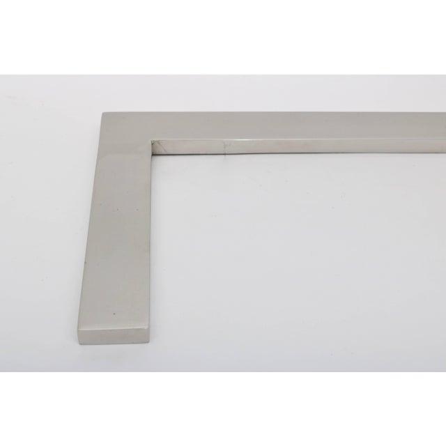 "Contemporary Milo Baughman Chrome ""Flat Bar"" Desk Lamp For Sale - Image 3 of 8"